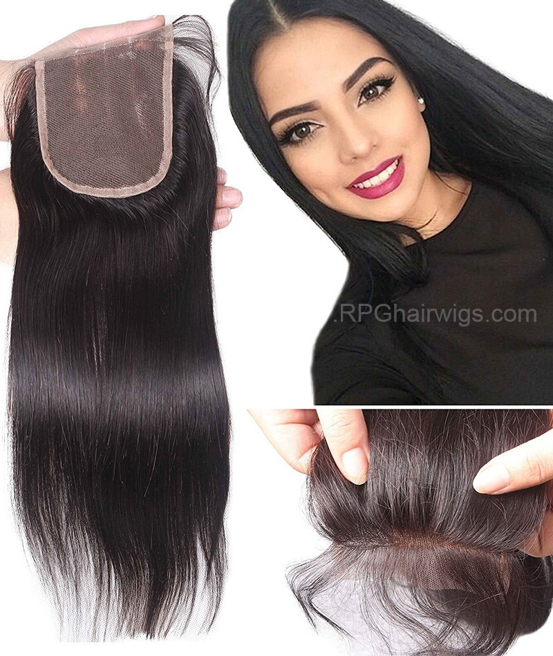 Hair Closurelace Closuresilk Closuresilk Base Closurehuman Hair