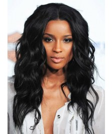 Natural Wave Glueless Full Lace Wigs Indian Remy Human Hair On Sale