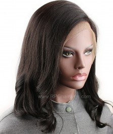 Big Sale Short Bob Picture Wave Lace Front Wigs Indian Remy Hair On Sale