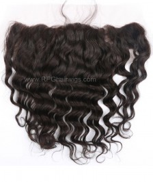 Indian Remy Hair 13x4 Bleached Knots Middle/Free Part Lace Body Wave Closures