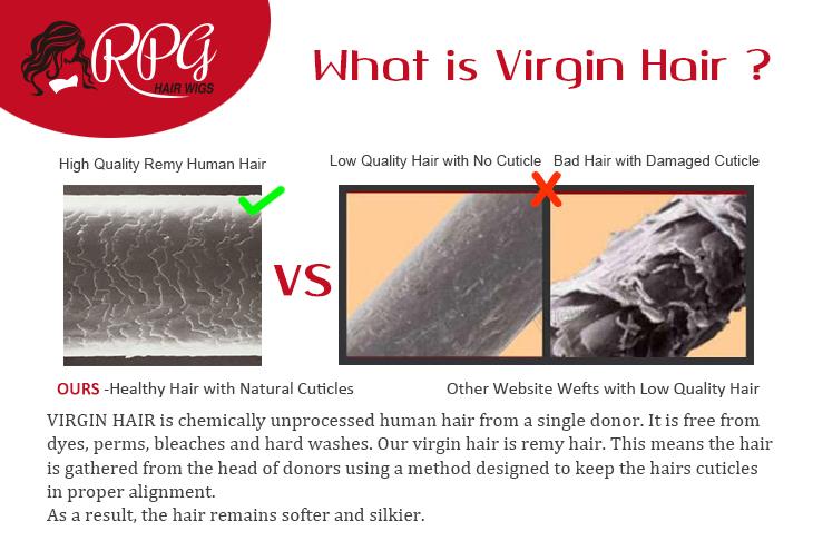 What is virgin hair